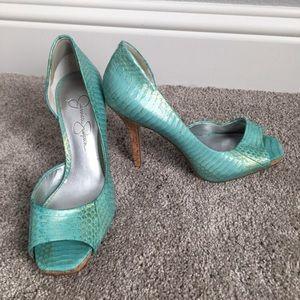 Jessica Simpson 4 inch stilettos Size 5 1/2